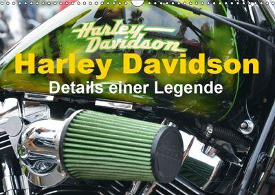 Harley Davidson - Details einer Legende (Wandkalender 2019 DIN A3 quer), Thomas Bartruff
