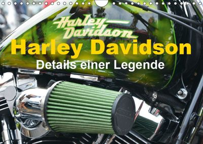Harley Davidson - Details einer Legende (Wandkalender 2019 DIN A4 quer), Thomas Bartruff