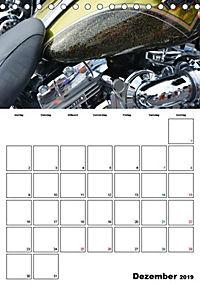 Harley Davidson Familienplaner (Tischkalender 2019 DIN A5 hoch) - Produktdetailbild 1