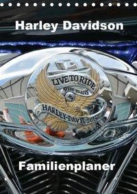 Harley Davidson Familienplaner (Tischkalender 2019 DIN A5 hoch), Thomas Bartruff