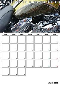 Harley Davidson Familienplaner (Tischkalender 2019 DIN A5 hoch) - Produktdetailbild 6