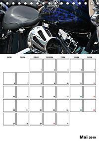 Harley Davidson Familienplaner (Tischkalender 2019 DIN A5 hoch) - Produktdetailbild 7