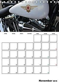 Harley Davidson Familienplaner (Tischkalender 2019 DIN A5 hoch) - Produktdetailbild 9