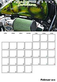 Harley Davidson Familienplaner (Tischkalender 2019 DIN A5 hoch) - Produktdetailbild 11
