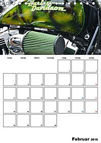 Harley Davidson Familienplaner (Tischkalender 2019 DIN A5 hoch) - Produktdetailbild 2