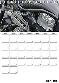 Harley Davidson Familienplaner (Tischkalender 2019 DIN A5 hoch) - Produktdetailbild 4