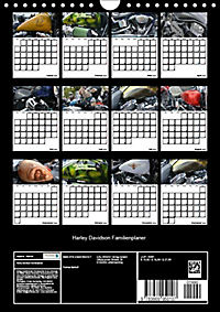 Harley Davidson Familienplaner (Wandkalender 2019 DIN A4 hoch) - Produktdetailbild 6
