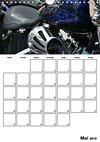 Harley Davidson Familienplaner (Wandkalender 2019 DIN A4 hoch) - Produktdetailbild 3