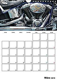 Harley Davidson Familienplaner (Wandkalender 2019 DIN A4 hoch) - Produktdetailbild 13