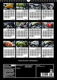 Harley Davidson Familienplaner (Wandkalender 2019 DIN A3 hoch) - Produktdetailbild 13