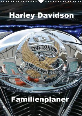 Harley Davidson Familienplaner (Wandkalender 2019 DIN A3 hoch), Thomas Bartruff