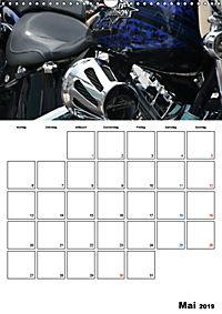 Harley Davidson Familienplaner (Wandkalender 2019 DIN A3 hoch) - Produktdetailbild 5