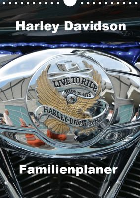 Harley Davidson Familienplaner (Wandkalender 2019 DIN A4 hoch), Thomas Bartruff