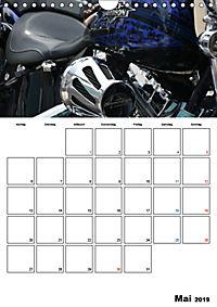 Harley Davidson Familienplaner (Wandkalender 2019 DIN A4 hoch) - Produktdetailbild 5