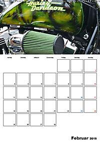 Harley Davidson Familienplaner (Wandkalender 2019 DIN A2 hoch) - Produktdetailbild 2