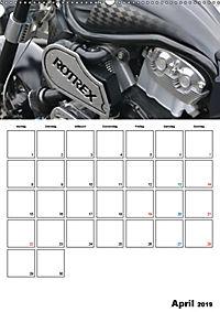 Harley Davidson Familienplaner (Wandkalender 2019 DIN A2 hoch) - Produktdetailbild 4