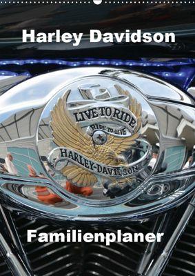 Harley Davidson Familienplaner (Wandkalender 2019 DIN A2 hoch), Thomas Bartruff