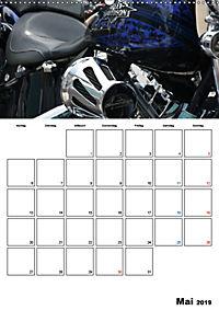 Harley Davidson Familienplaner (Wandkalender 2019 DIN A2 hoch) - Produktdetailbild 5