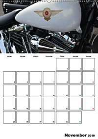 Harley Davidson Familienplaner (Wandkalender 2019 DIN A2 hoch) - Produktdetailbild 11