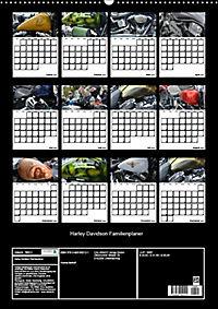 Harley Davidson Familienplaner (Wandkalender 2019 DIN A2 hoch) - Produktdetailbild 13
