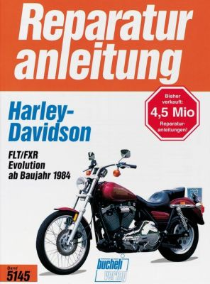 Harley Davidson FLT/FXR Evolution Engine 1340 (ab Baujahr 1984), Thomas Jung