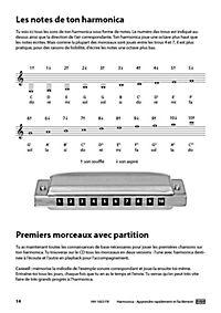 Harmonica - Apprendre rapidement et facilement, m. MP3-CD - Produktdetailbild 8