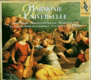 Harmonie Universelle - Alia Vox Portrait 1998 - 2001, Savall, Figueras, Hesperion Xxi
