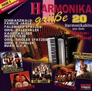 Harmonikagrüße (Instrumental) Vol. 3, Diverse Interpreten