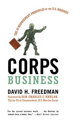HarperCollins e-books: Corps Business, David H. Freedman