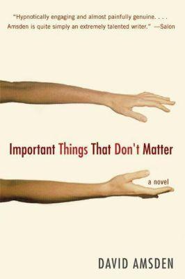 HarperCollins e-books: Important Things That Don't Matter, David Amsden