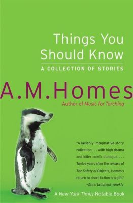 HarperCollins e-books: Things You Should Know, A. M. Homes