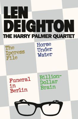 HarperCollins: The Harry Palmer Quartet, Len Deighton