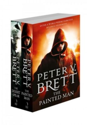 HarperVoyager: The Demon Cycle Series Books 1 and 2: The Painted Man, The Desert Spear, Peter V. Brett