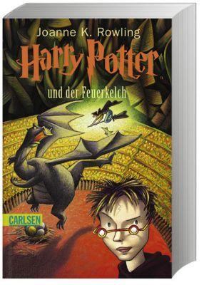 Harry Potter Band 4: Harry Potter und der Feuerkelch - J.K. Rowling |