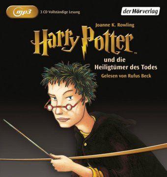 Harry Potter Band 7: Harry Potter und die Heiligtümer des Todes (2 MP3-CDs), Joanne K. Rowling