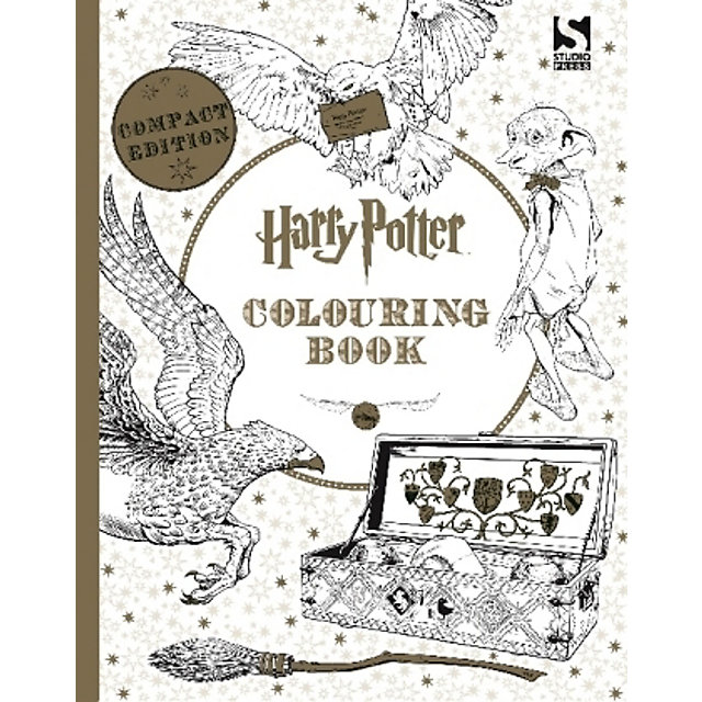Harry Potter Colouring Book Compact Edition Buch ...
