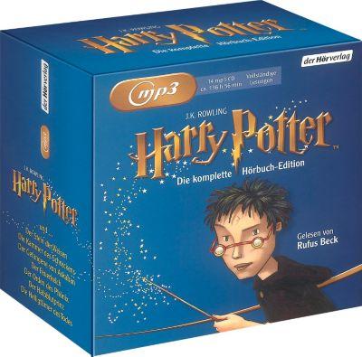 Harry Potter, die komplette Hörbuch-Edition, Joanne K. Rowling