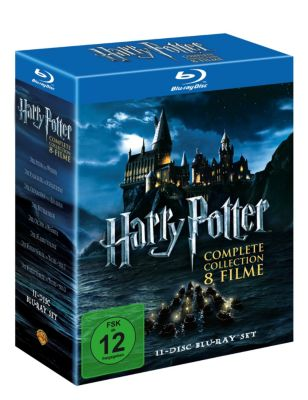 Harry Potter - Komplettbox, Joanne K. Rowling, Steve Kloves, Michael Goldenberg