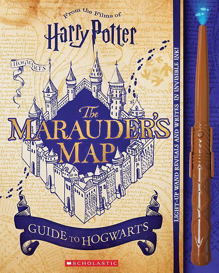 Harry Potter: The Marauder\'s Map Guide to Hogwarts Buch ...