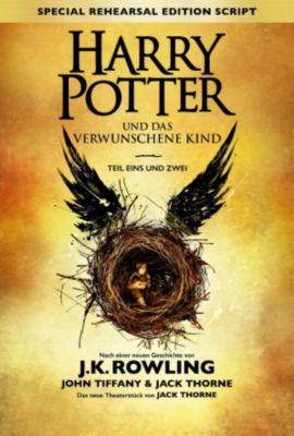 Harry Potter und das verwunschene Kind - Teil eins und zwei (Special Rehearsal Edition), J.K. Rowling, John Tiffany, Jack Thorne, Klaus Fritz, Anja Hansen-Schmidt