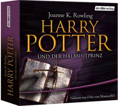Harry Potter und der Halbblutprinz, 19 Audio-CDs (Ausgabe für Erwachsene), J.K. Rowling