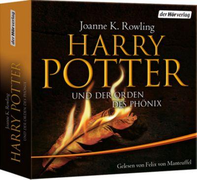 Harry Potter und der Orden des Phönix, 28 Audio-CDs (Ausgabe für Erwachsene), J.K. Rowling