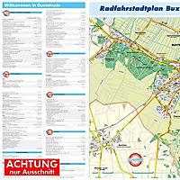 HARTMANN-PLAN Buxtehude, 1: 20.000 Stadtplan mit kpl. Stadtgebiet - Produktdetailbild 2