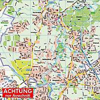 HARTMANN-PLAN Hamburg-Walddörfer: Sasel, Volksdorf und Bergstedt 1 : 20.000 Stadtplan - Produktdetailbild 1