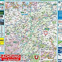 HARTMANN-PLAN Kreis Stormarn 1 : 100.000 Kreiskarte - Produktdetailbild 1