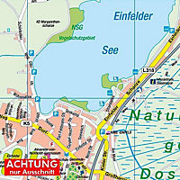 HARTMANN-PLAN Neumünster, 1:20.000, Stadtplan - Produktdetailbild 2