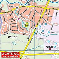 HARTMANN-PLAN Neumünster, 1:20.000, Stadtplan - Produktdetailbild 3