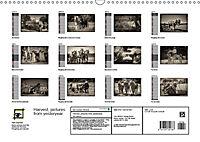 Harvest, pictures from yesteryear (Wall Calendar 2019 DIN A3 Landscape) - Produktdetailbild 13