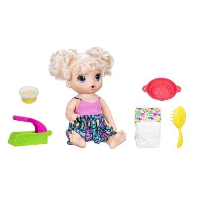 Hasbro C0963100 Baby Alive Baby Leckerschmecker (blondhaarig)
