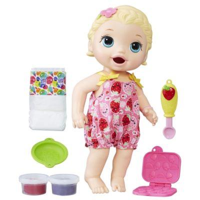 Hasbro C2697EU4 Baby Alive Fütterspaß Lily (blondhaarig)